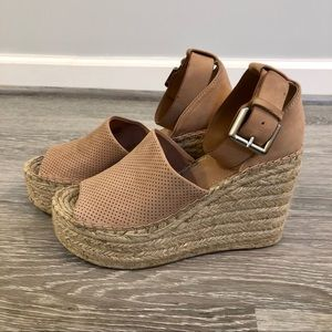 Marc Fisher Adalyn Espadrille Wedge Sandals